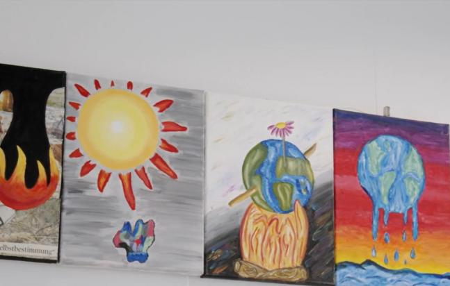 Earth – Ein Schulkunstprojekt