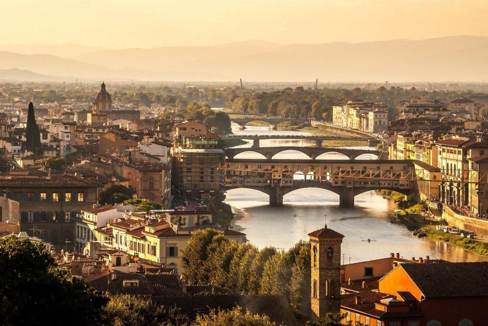 Saluti da Firenze!