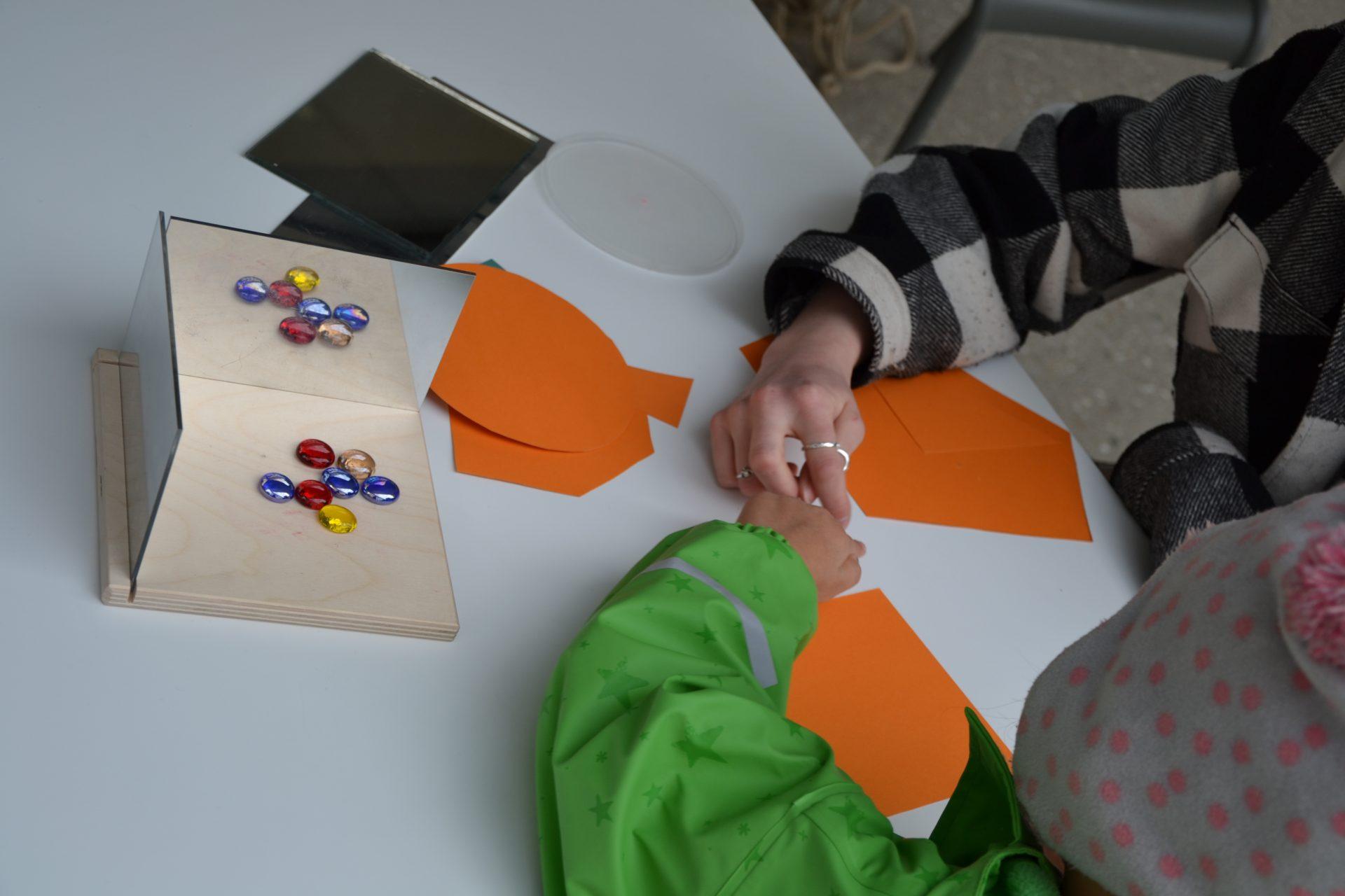 Unser Mathe-Projekttag – erstmals im Garten